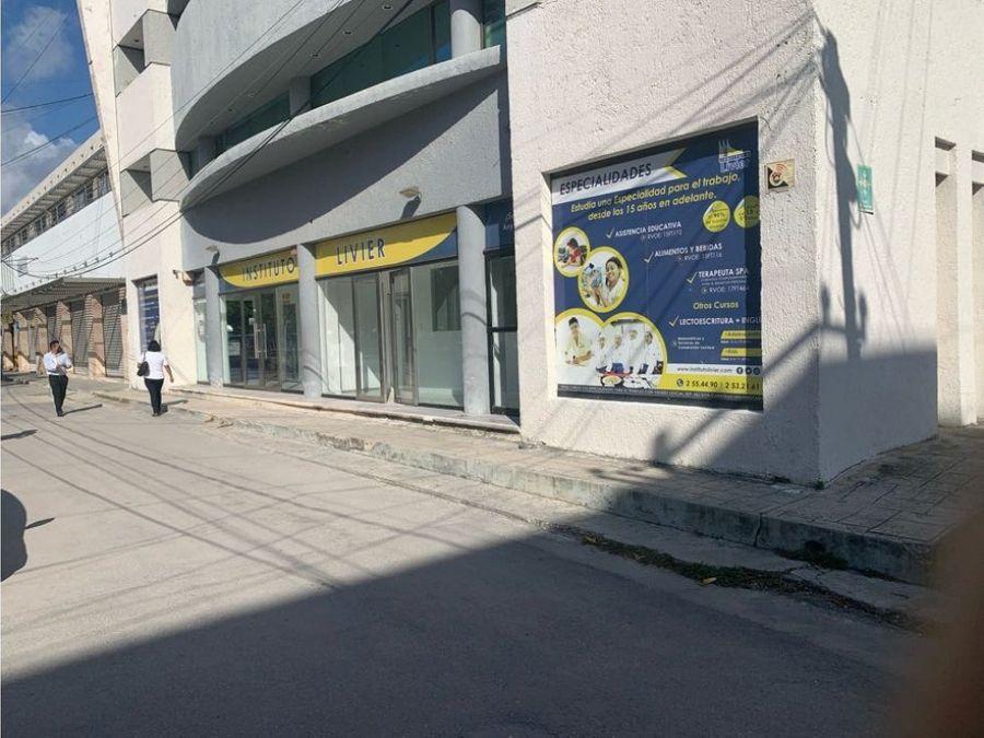 oficina en renta en cancun centro 60 m2 10950 mxn