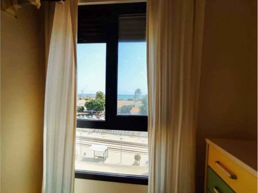 piso con vistas al mar en venta en denia en zona saladar