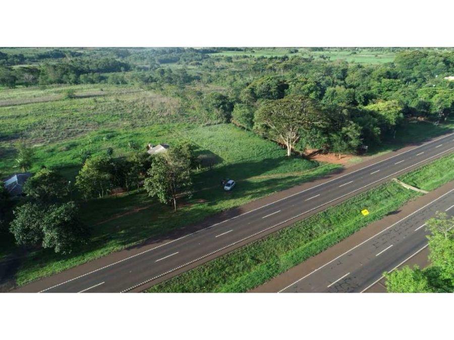 propiedad para loteamiento sobre la nueva ruta 7 doble carretera