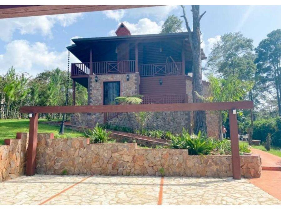 renta villa jarabacoa usd290 por noche 10 a 15 personas