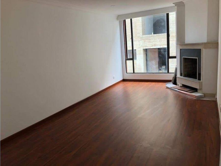 renta apartamento santa barbara 60m2 2 alcobas 2 banos balcon