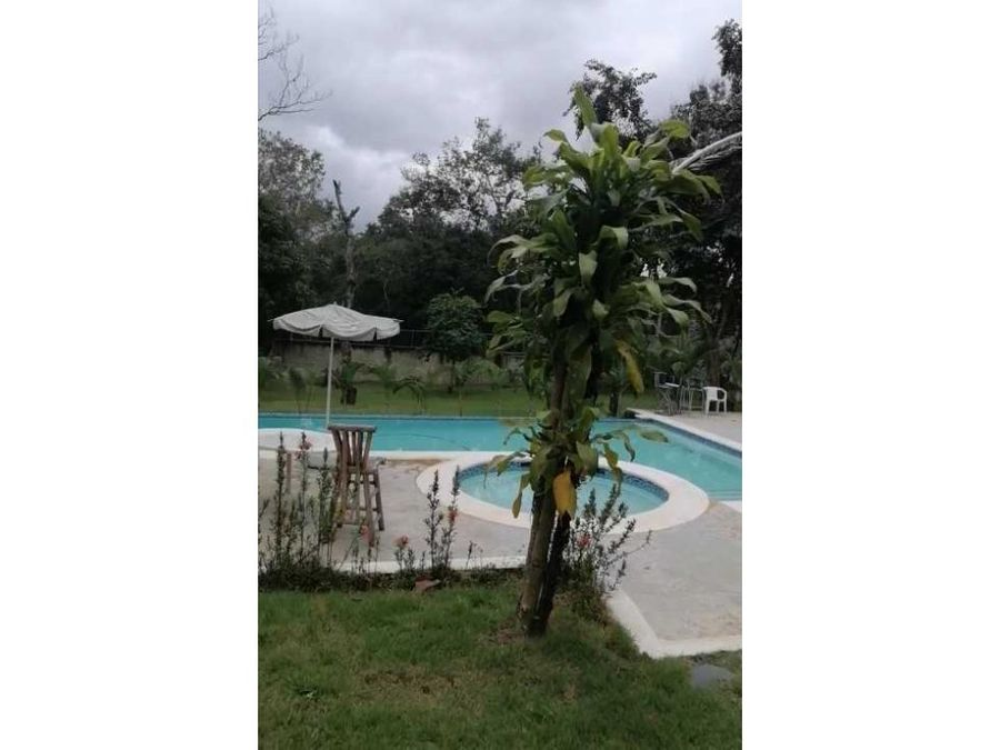 rento finca con piscina lomas lindas usd230