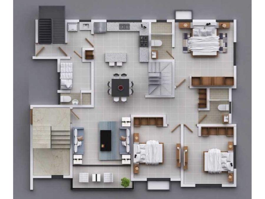 residencial en construccion urb villas del norte