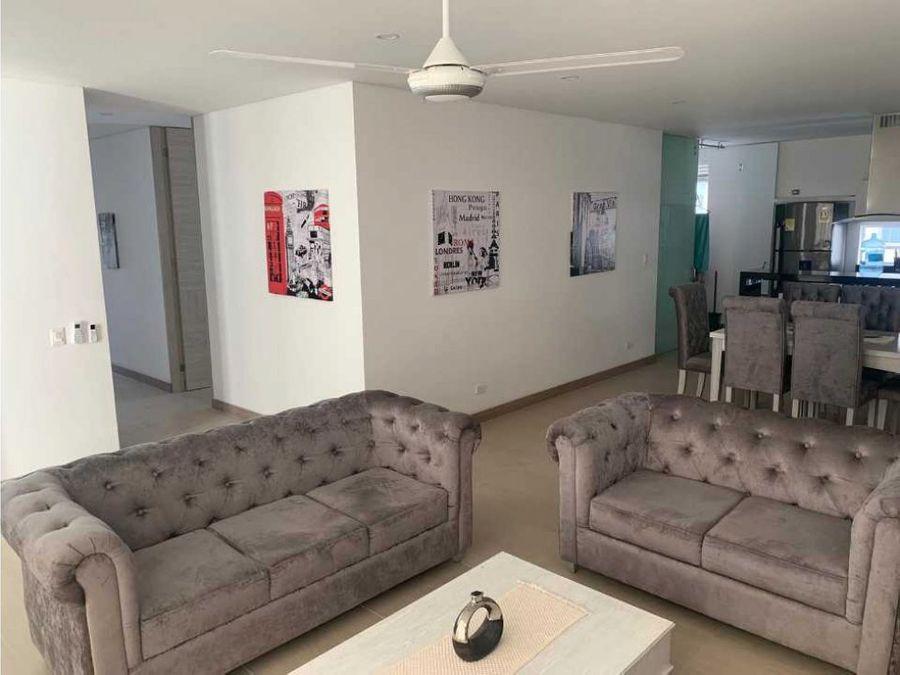 se vende apartamento amoblado sector irotama