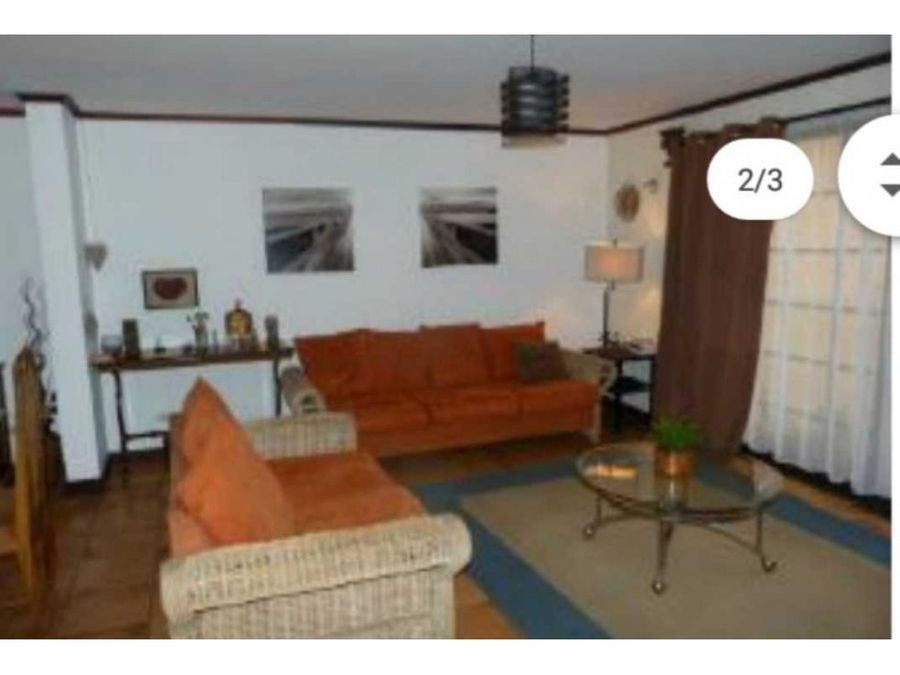 se vende casa en condominio en escazuremate bancario1462 m2