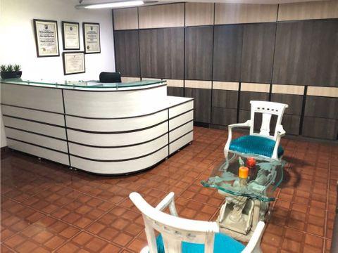 se vende oficina amoblada sector centro