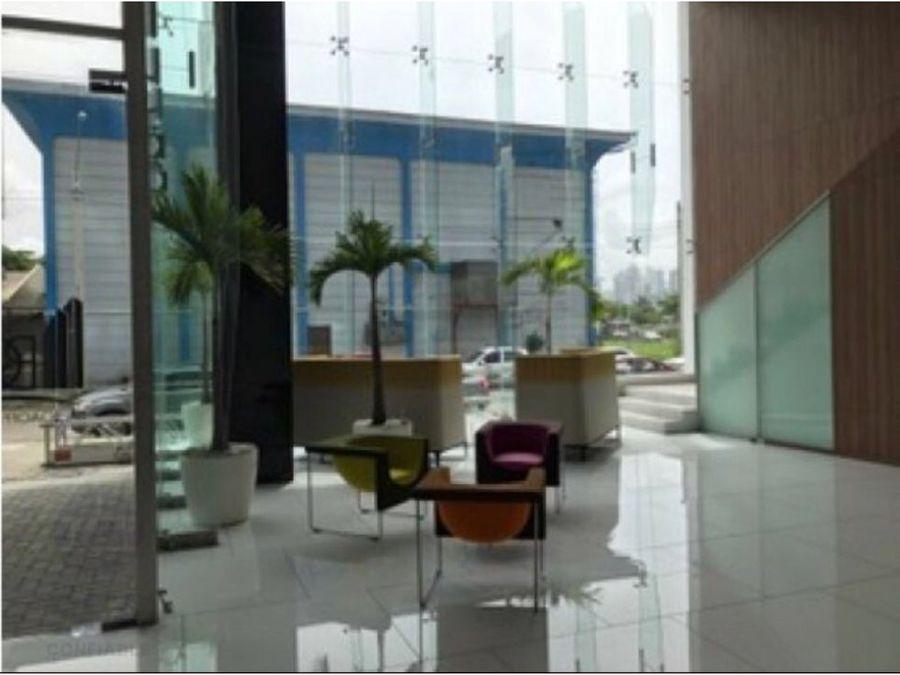 se alquila oficina 105 mt2 ph balboa office centee