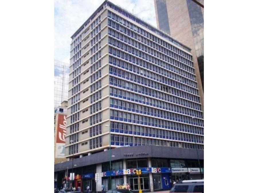 alquilo oficina 58m2 plaza venezuela