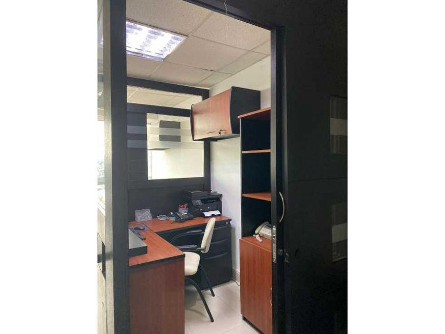 se alquila oficina amoblada en city office 34m2