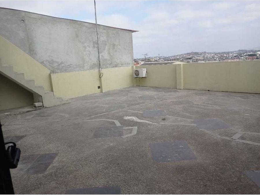 se alquila departamento con terraza en sauces 9