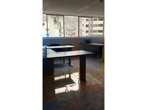 se alquila oficina 24 m2 sabana grande
